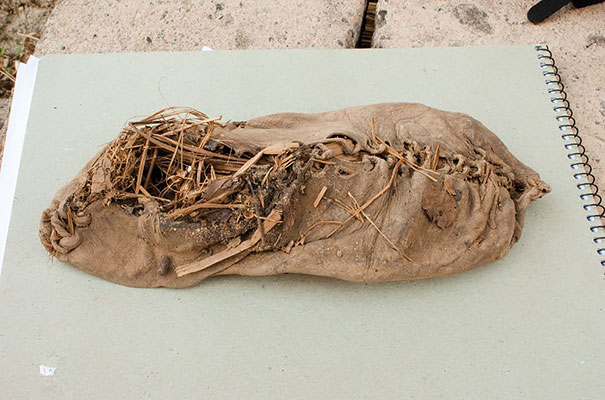 Oldest Shoe (5,500 years old), Oldest Sculpture Of A Human Form (35,000 – 40,000 years old), Oldest Sunglasses (800 years old), Oldest Written Recipe (5,000 years old), oldest socks, oldest ordinary objects, oldest everyday things, oldest socks photo, oldest ordinary objects photo, oldest everyday things photo, oldest everyday things in the world, world's oldest socks photo, ancient ordinary objects, 16 Oldest Surviving Examples Of Everyday Things, examples of ancient everyday objects