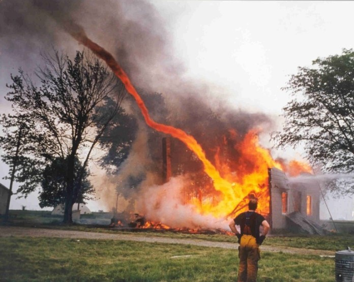 fire whirls, fire devil or fire tornado