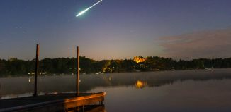 meteor photo, fireball photo, us fireball photo, meteor photo 2014, fireball photo 2014, us fireball photo 2014, fireball minnesota, fireball minnesota september 2014, fireball 2014, fireball minnesota 2014, us fireball 2014, us meteor september 2014, minnesota fireball september 2014, This clear fireball picture was shot at Lake , Minnesota on September 12, 2014. Photo: Reddit