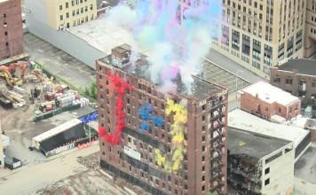 implosion wellington hotel, implosion wellington hotel video, video of implosion wellington hotel, implosion wellington hotel albany, The colorful implosion of an Annex of the Wellington Hotel in Albany, NY.
