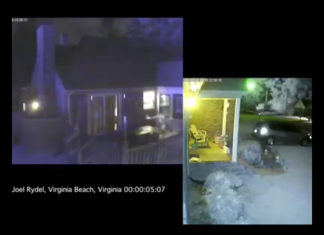 meteor carolina and virginia september 26 2014, metero carolinas and virginia september 2014, september 2014 US fireballs, Carolinas fireball video, virginia fireball video, Flash of light created by a fireball on September 26-27 2014 in the Carolinas and Virginia. Photo: Video caption Facebook