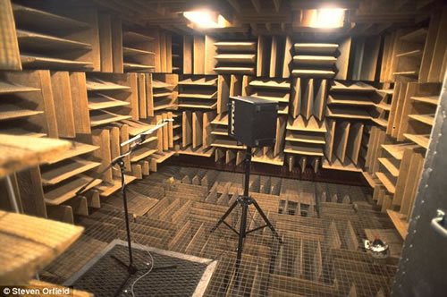quietest room on Earth, silence drives crazy, can silence drive you crazy?, silence torture, silence crazyness, The quietest room on Earth will drive you crazy?