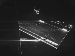 Space selfie, rosetta selfie, rosetta selfie at comet, rosetta selfie comet, Space selfie? Here you go: Rosetta mission selfie at comet 67P/C-G, taken on 7 September. Credit: ESA/Rosetta/Philae/CIVA