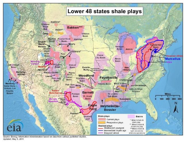 shale gas in the US map, shale gas reservoirs usa, shale gas map, shale gas play usa, fracking map usa, us fracking map, us gas reserves, map of shale gas in usa, Map of shale gas reservoirs in the USA, fracking, natural gas production, hydraulic fracturing, barnett shale, marcellus shale, fracking vs drinking water contamination