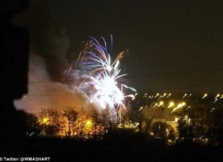 explosion and loud booms after Explosion of SP Fireworks Factory in Stafford, Explosion of SP Fireworks Factory in Stafford video