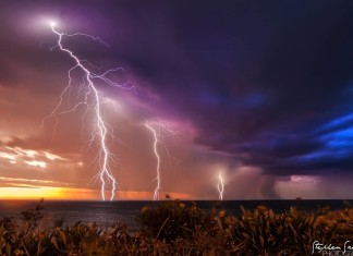 lightning photo, photo lightning adelaide pictures, adelaide lightning storm australia october 2014, adelaide lightning storm, adelaide lightning storm photo, pictures lightning storm adelaide SA, SA lightning storm adelaide photo, Amazing lightning picture during Adelaide, SA lightning storm on October 26 2014, Lighting storm picture From Christies Beach, SA by Steve Scheer