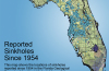 florida sinkhole, florida sinkhole map, map of sinkhole in florida, florida sinkhole mapping, geology map of sinkhole, sinkhole geological map florida, florida sinkhole map, map of sinkhole in Florida, Sinkholes reported since 1954 in Florida... A lot of cave-ins have opened up!