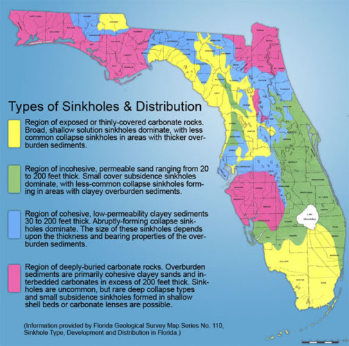 Florida Sinkhole: Why is Florida Prone to Large Sinkholes