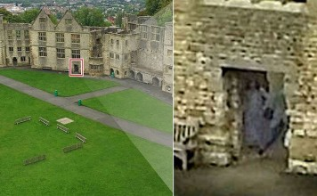 grey lady ghost photo, Grey Lady Ghost, haunted Dudley Castle, haunted castle uk, uk haunted castles, grey lady uk, uk grey lady ghost, Was the Grey Lady Ghost caught on camera at haunted Dudley Castle?