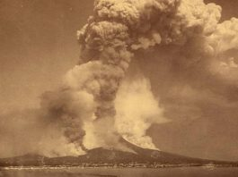 krakatoa eruption loudest sound history