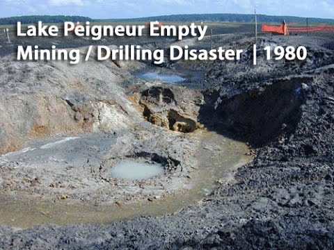 Lake Peigneur drilling disaster, lake peigneur, lake peigneur disaster, lake peigneur disaster 1980