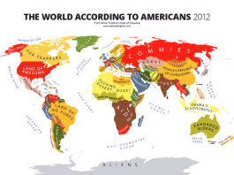 atlas of prejudices, Atlas of Prejudice: Mapping Stereotypes, Mapping Stereotypes, Yanko Tsvetkov atlas of prejudices, the map of prejudices, prejudices map, the world according to Americans