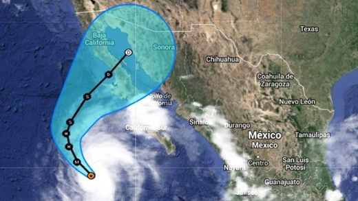 tropical storm simon updated