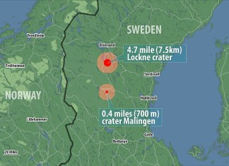 twin asteroids sweden, twin as teroid impact crater, impact crater sweden, sweden largest cosmic catastrophe, largest cosmic catastrophe sweden, twin asteroids hit sweden, double asteroid hit central sweden, sweden double impact crater, Twin Asteroids Impacted Sweden in One of the Largest Solar Systems's Cosmic Catastrophes