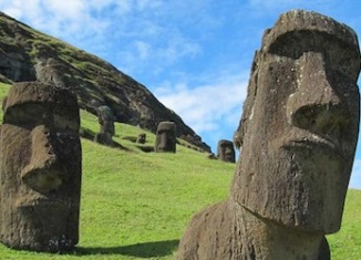 Easter Island stone heads heve bodies, Moai, Moai statues easter island, Moai stone heads statues easter island, Easter Island stone heads buried bodies, The mysterious Earter Island's stone heads have bodies buried in the ground., Easter Island stone heads, Easter Island stone statues, statues on easter island, stone heads easter island, easter island stone sculptures, monolithic statues of Easter Island, Moai, Moai statues, Moai statues easter island, Just the heads of these mysterious sculptures are lurking out of the ground., And what we see is just the tip of the iceberg., Stairs? Where do they lead? To an underground unknown world?