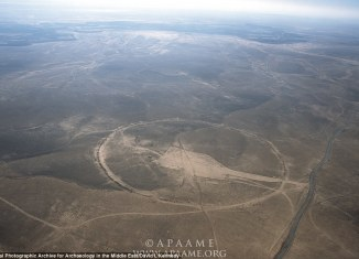 Mysterious Big Circles in Jordan, big circles jordan, ancient stone circles jordan desert, mystery of Jordan's big circles, big circles found in Jordan desert, jordan desert mysterious big circles, ancient stone circles jordan desert