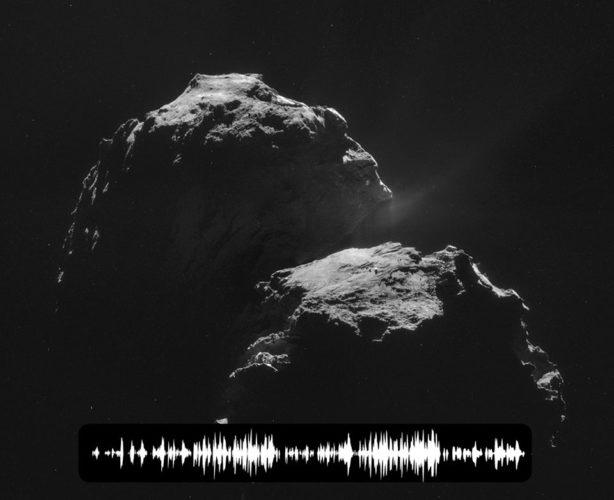 comet sound, sound of comet rosetta, rosetta comet sings into space, comet song, singing comet, mysterious sound of comet 67P/Churyumov-Gerasimenko, comet 67P/Churyumov-Gerasimenko strange sounds, 67P/Churyumov-Gerasimenko sings into space, sound of a comet, sound comet rosetta, strange sound comet rosetta, how comets sound like, mysterious sound of a comet, Rosetta's Plasma Consortium (RPC) has uncovered a mysterious 'song' that Comet 67P/Churyumov-Gerasimenko is singing into space., comet, comet sound, comet sound rosetta, Comet 67P/Churyumov-Gerasimenko, Comet 67P/Churyumov-Gerasimenko sound