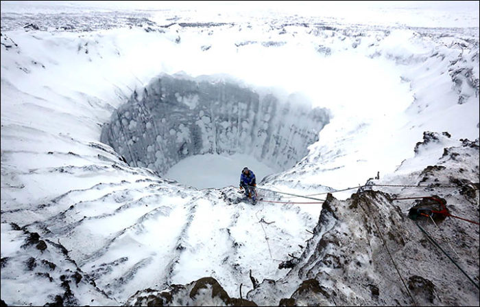 inside mysterious yamal crater siberia frozen november 2014, inside mysterious yamal crater siberia, inside mysterious yamal crater siberia nove 2014, inside frozen mysterious siberia crater, yamal crater frozen photo, inside yamal crater photo, pictures of inside yamal crater, mysterious yamal crater inside pictures, inside mysterious frozen yamal crater photo