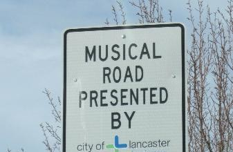 musical road, melody road, singing road in Landcaster, USA musical road japan, musical road around the world