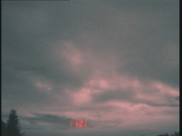 red sprite november 20014, red sprite photo 2014, red sprite croatia november 2014, Two groups of red sprites have been spotted under thunderstorm clouds in Croatia on November 5, 2014.
