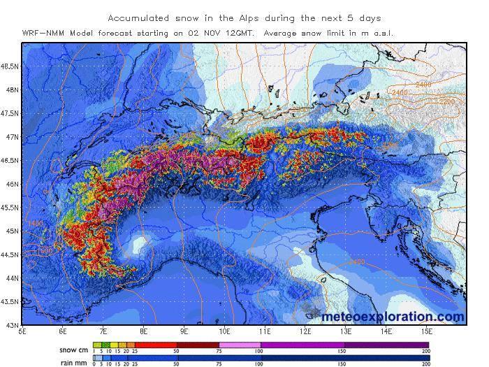 severe snowfall alps november 2014, snowfall alps november 2014, snow alps november 2014, weather anomaly: snow in alps in November 2014, snowstorm alps november 2014