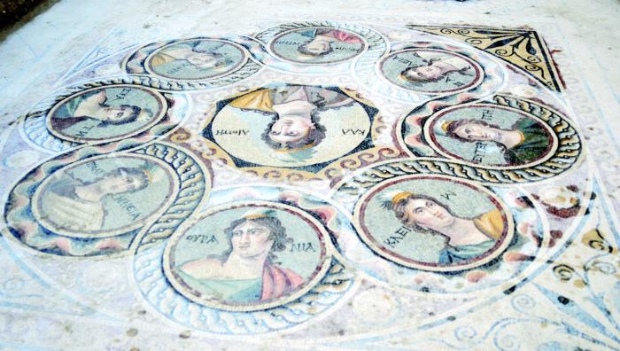 zeugma mosaic, ancient mosaic zeugma, zeugma mosaic november 2014, ancient mosaic unearthed in Zeugma nov 2014, Stunning Ancient Greek Mosaic Depicting The Nine Muses or Daughters of Zeus Unearthed in Turkey, zeugma, zeugma mosaic, zeugma excavation project, mosaic zeugma turkey, turkey ancient mosaic zeugma, amazing zeugma mosaic discovery nov 2014, Zeugma Antik Kenti'nde 3 yeni mozaik bulundu