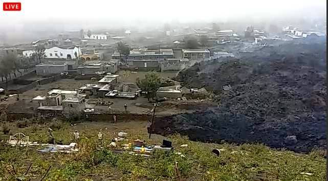 Lava Apocalypse: A river of lava is destroying villages in Cape Verde near Fogo Volcano, FOGO VOLCANO eruption december 2014, fogo volcano video, fogo volcano pictures, fogo volcano river of lava destroys two villages, A raging river of lava has engulfed two villages sitting near the Fogo volcano in the Cape Verde Islands, FOGO VOLCANO eruption pictures december 2014, FOGO VOLCANO eruption pictures and video december 2014. A river of lava is destroying villages in Cape Verde near Fogo Volcano