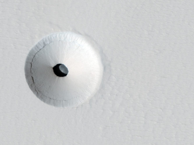 Mars Holes & Caves, Mars Holes and Caves, mars holes, mars caves, sinkhole on mars, caves on Mars underground holes and caves on Mars