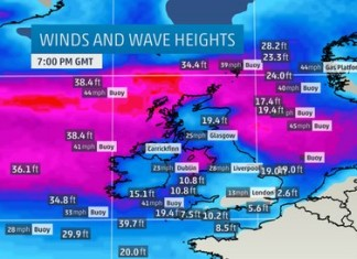 Weather Bomb VIDEO, Apocalyptic Weather Bomb VIDEO, Apocalyptic Weather Bomb VIDEO In Iceland, Apocalyptic Weather Bomb VIDEO In Iceland on December 10 2014, explosive cyclogenesis december 2014, weather bomb 2014, amazing weather bomb dec 2014, Greenland Low Pressure 'Bomb' Brings Extreme Winds to Iceland; Huge Waves Building on Seas Near U.K., explosive storm greenland dec 2014, low pressure bomb december 2014