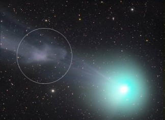 Magnetic Storm On Comet Lovejoy Comet C2014 Q2