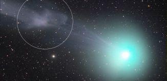 Magnetic Storm On Comet Lovejoy Comet C2014 Q2