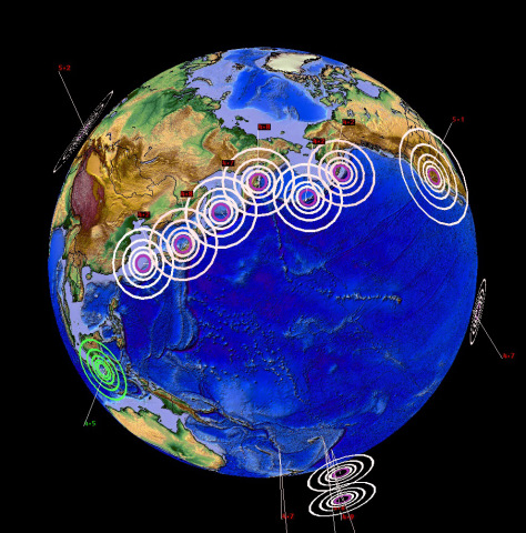 earthquake progression, earthquake progression 2015, earthquake progression japan alaska 2015, earthquake line 2015, earthquake line japan to alaska 2015, earthquake progression Japan Alaska 2015