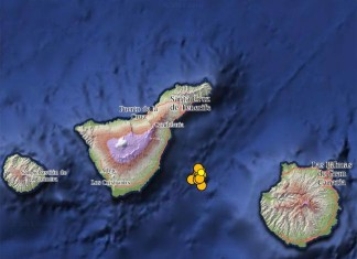 mysterious earthquake swarm canary island january 2015, earthquake swarm canary islands, strange series of quakes between gran canaria and tenerife, canary island mysterious quake swarm, earthquake swarm between gran canaria and tenerife january 2015