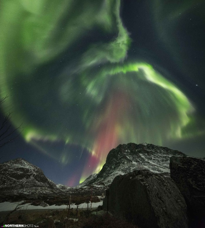 aurora, aurora borealis picture, aurora borealis picture 2015, northern lights 2015, northern lights pictures february 2015, geomagnetic storm aurora february 2015, geomagnetic storm G1 february 2015 aurora, northern lights february 2015, Northern lights by Francesco Galbiati in Tromsø