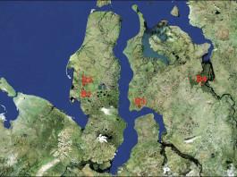 mysterious craters yamal peninsula satellite image, new craters detected in Yamal peninsula, yamal peninsula crater apocalypse, yamal peninsula new crater found, dozens of new crater found on Ymala peninsula, crater yamal new craters