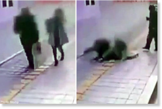 Two persons swallowed by a sinkhole at South Korean train station!, sinkhole swallows two in south korean train station video, CCTV sinkhole south korea, 2 persons swallowed by sinkhole in South Korea video, sinkhole swallows 2 persons video, sinkhole video, video of sinkhole, best video of sinkhole, sinkhole swallows two persons in South Korea train station, sinkhole swallows pedestrian video february 2015, video sinkhole swallows two pedestrian in south korea, south korea sinkhole video