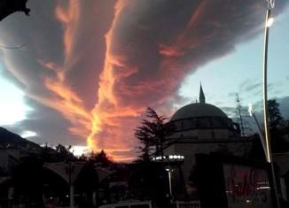 strange cloud tokat, strange clouds, weird cloud, amazing cloud, odd cloud formation, cloud picture, amazing cloud picture, sky phenomenon