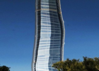 Costanera Center, Costanera Center santiago, Costanera Center melting, Costanera Center santiago de chile, The highest building of Latin America is melting down