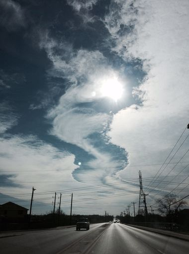 Freaky Fallstreak Hole Cloud Over San Antonio On Friday