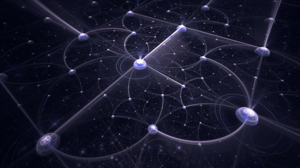 Fractal patterns and golden ratio in stars strange sounds for Outer space pattern