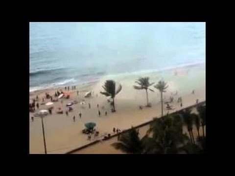 waterspout recife video 2015, waterspout recife march 1 2015, apocalyptic waterspout engulfs beach in recife brasil march 1 2015, amazing waterspout disaster in recife march 1 2015 video, waterspout recife march 1 2015 video, waterspout recife march 1 2015, Terrifying waterspout engulfs beach in Recife Brazil on March 1 2015