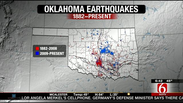 Reactivated fault lines could cause major quake in Oklahoma ...