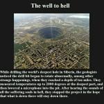 the well to hell, the well to hell sound, the well to hell noise, the well to hell mystery