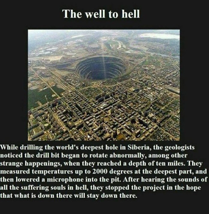 the well to hell, the well to hell sound, the well to hell noise, the well to hell mystery