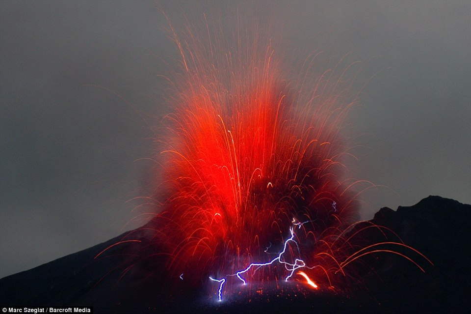 an examination of the phenomenon of volcanic lightning A novarupta-scale eruption is almost certain to happen again in alaska the  question is when  hazardous phenomena associated with active volcanoes   examining these volcanic histories helps geologists try to predict how each  volcano.