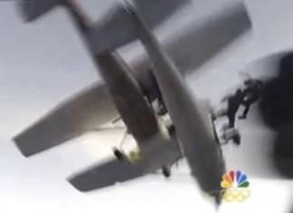 Wisconsin skydivers plane crash, Wisconsin skydivers plane collison, Wisconsin skydivers plane crash video, video of Wisconsin skydivers plane crash, Wisconsin skydivers plane collison video