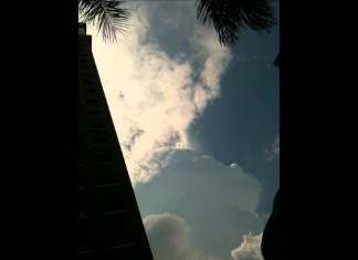 mysterious sky phenomenon, strange sky phenomenon, strange phenomenon clouds video, strange clouds video, strange light phenomenon over clouds, tornado-like shapes dance above thunderstorm clouds,
