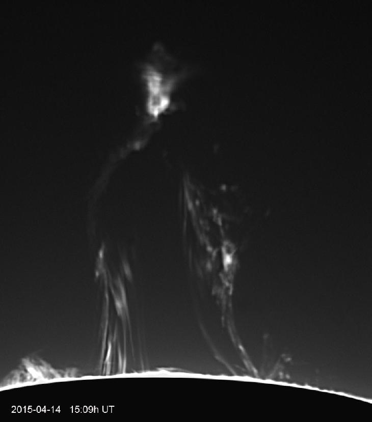 solar filament eruption april 14 2015, solar filament eruption, solar eruption april 14 2014, amazing solar filament eruption april 2015, giant filament eruption april 14 2015