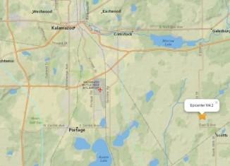 Earthquake Michigan may 2015, Earthquake Michigan may 2 2015, michigan quake 4.2 mag, 4.2 mag michigan quake may 2015, boom quake michigan may 2015