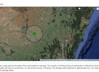 australia deleted earthquake nsw may 31 2015, australia censored earthquake may 31 2015, mag 4 earthquake hits nsw australia, rare earthquake shakes australia is censored by usgs, usgs censores australian earthquake in NSW may 31 2015, censored earthquake australia may 31 2015, The censored earthquake in North South Wales Australia May 31 2015, The epicenter of the deleted earthquake in Australia on May 31 2015.